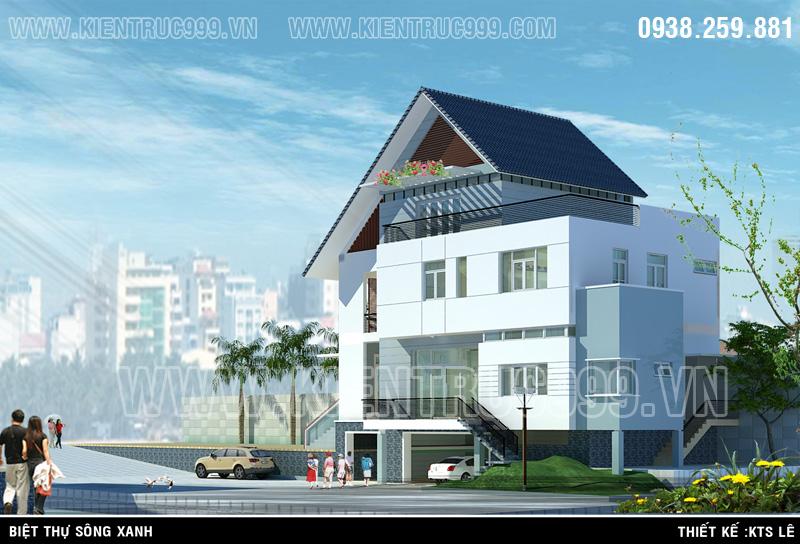 Thiết kế nhà đẹp này với tất cả tình yêu và nhuyệt huyết của 1 kiến trúc sư.