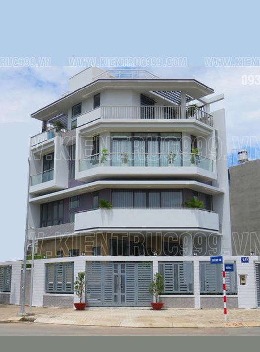 Nhà phố 2 mặt tiền đẹp là không gian sống lí tưởng cho mọi gia đình ở các khu đô thị lớn.