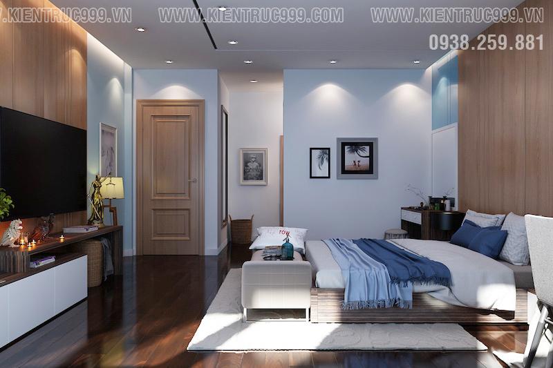 phòng ngủ nhà một tầng đẹp 2018 theo phogn thủy