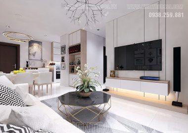 Nội thất căn hộ đẹp đầy cảm hứng vừa thoáng vừa sáng đến bất ngờ.