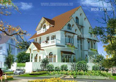 Tổng hợp 10 mẫu thiết kế nhà đẹp, biệt thự đẹp 3 tầng mái ngói thái nhìn cực chất.