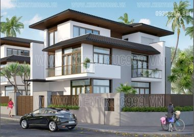 Nhà đẹp 3 tầng chú Tâm quận 12 TPHCM theo phong cách Á Đông hiện đại