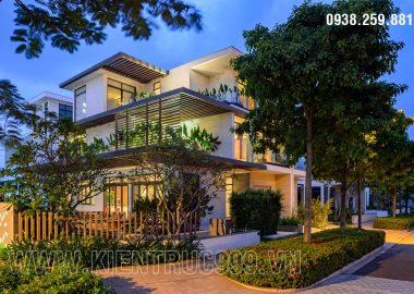 Thiết kế nhà đẹp 3 tầng đáng sống giữa thành phố đáng sống Sài Gòn