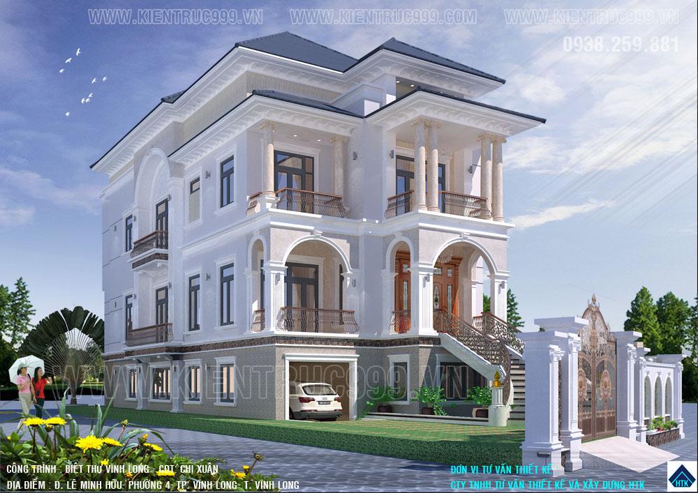 Đi tìm lời giả vì sao biệt thự tân cổ điển đang thống trị thiết kế nhà đẹp.