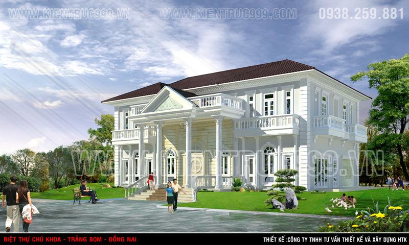 Nhà đẹp 2 tầng tân cổ điển Trảng Bom- Đồng Nai