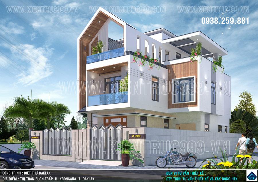 Thiết kế kiến trúc nhà ở luôn phải đi tìm hình khối mới.