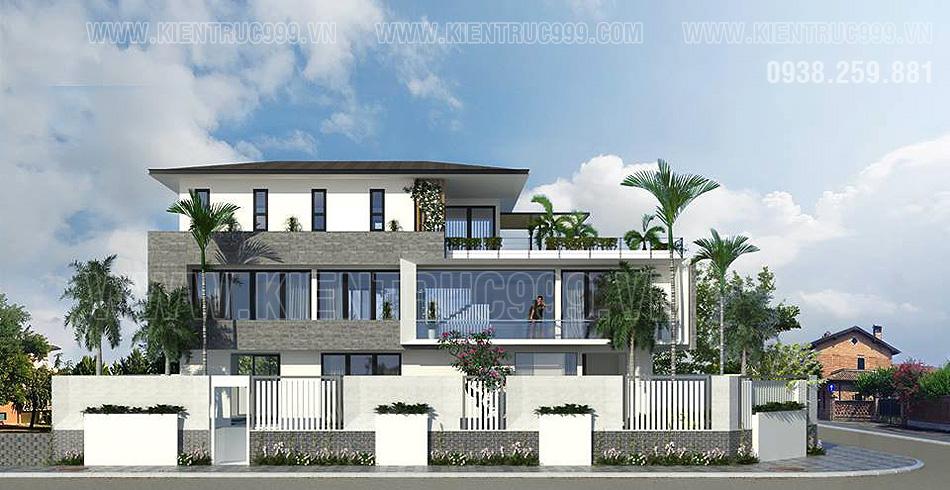 Thiết kế nhà đẹp hiện đại phù hợp với các quy định về giấy phép xây dựng.